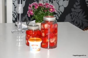 #jordbær på sprit