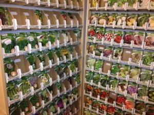 Stort utvalg av frø