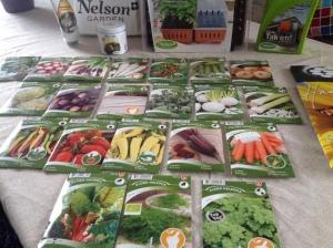 #Grønnsaksfrø