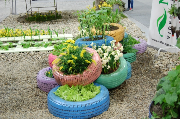 #kreative blomsterbed